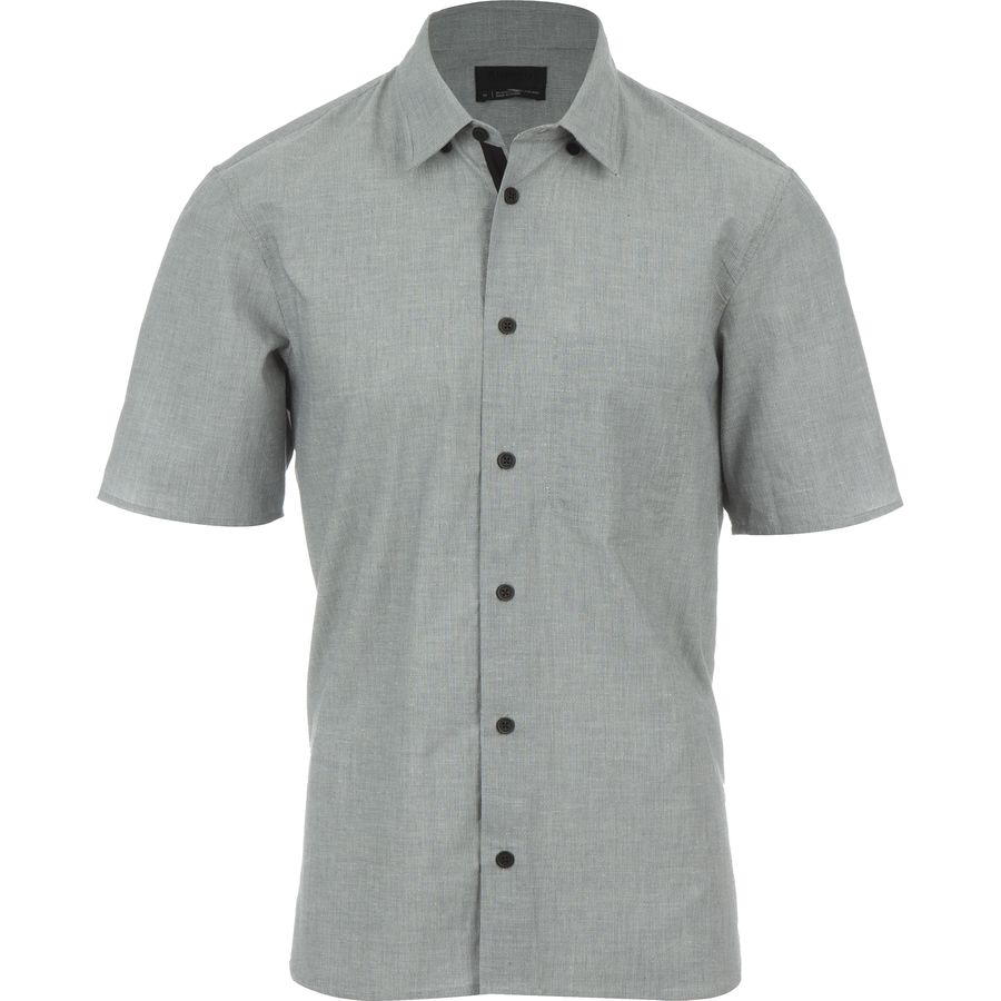 Alchemy Equipment Cotton/Hemp Woven Shirt - Short-Sleeve - Mens