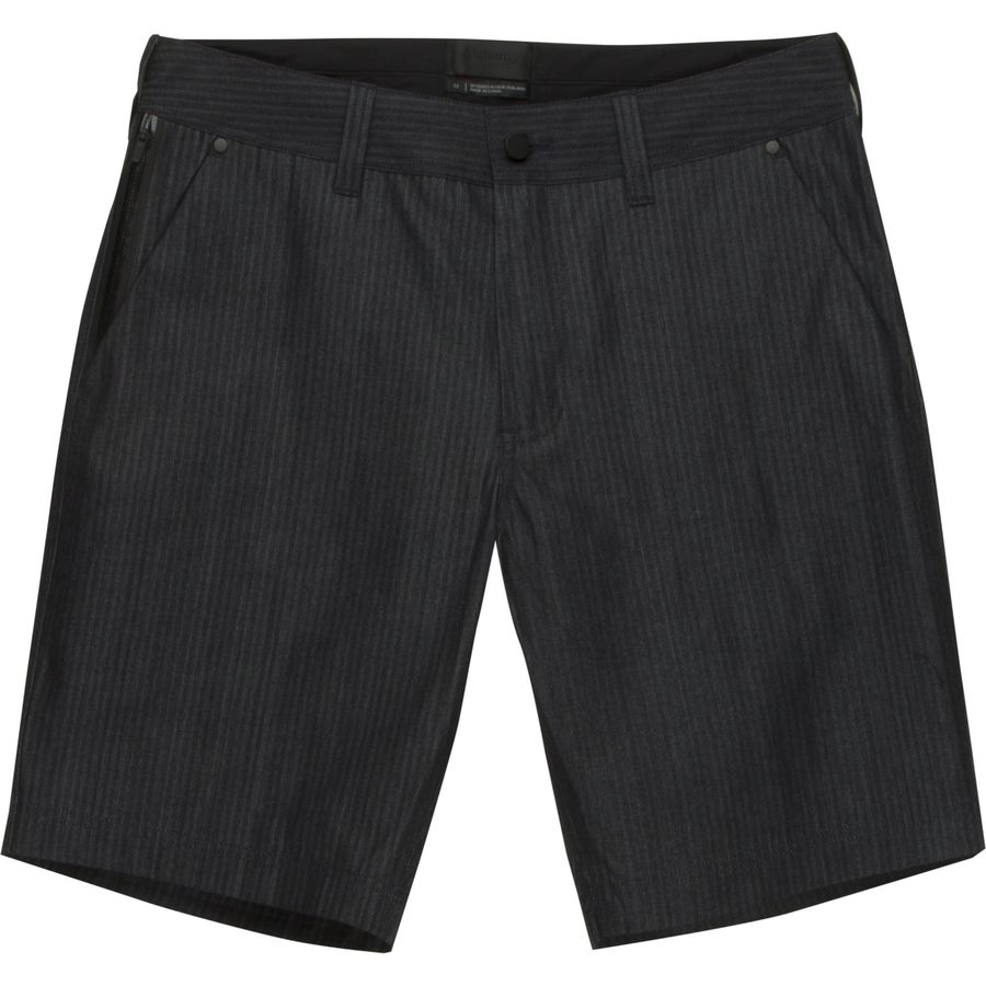 Alchemy Equipment Indigo Herringbone Denim Short - Mens