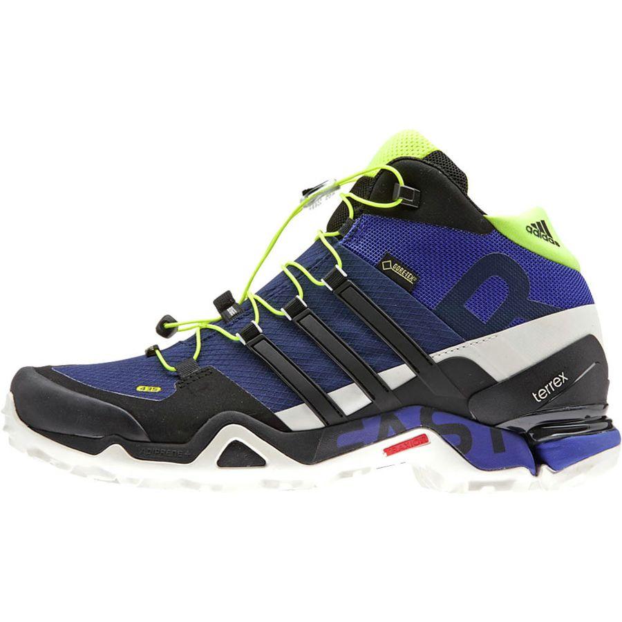 adidas outdoor terrex fast r mid gtx hiking boot men 39 s. Black Bedroom Furniture Sets. Home Design Ideas