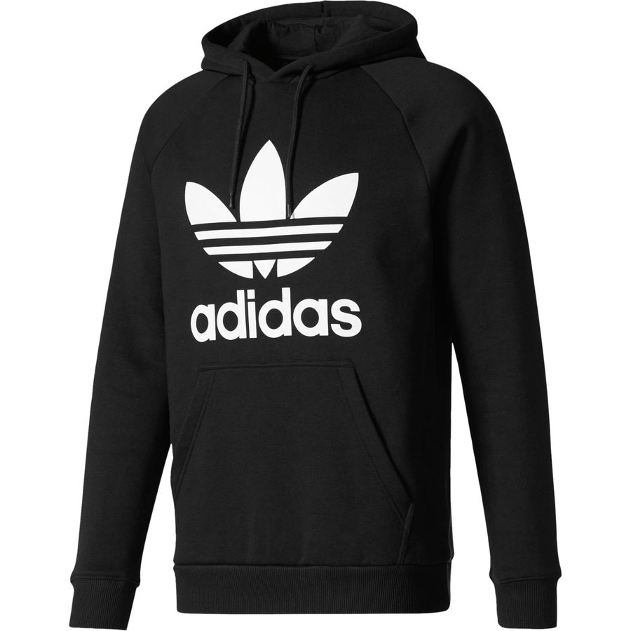 adidas trefoil pullover hoodie men 39 s. Black Bedroom Furniture Sets. Home Design Ideas