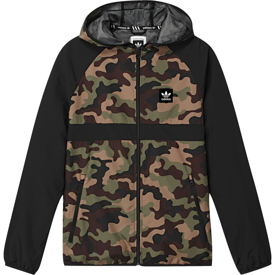 adidas camo windbreaker men 39 s. Black Bedroom Furniture Sets. Home Design Ideas