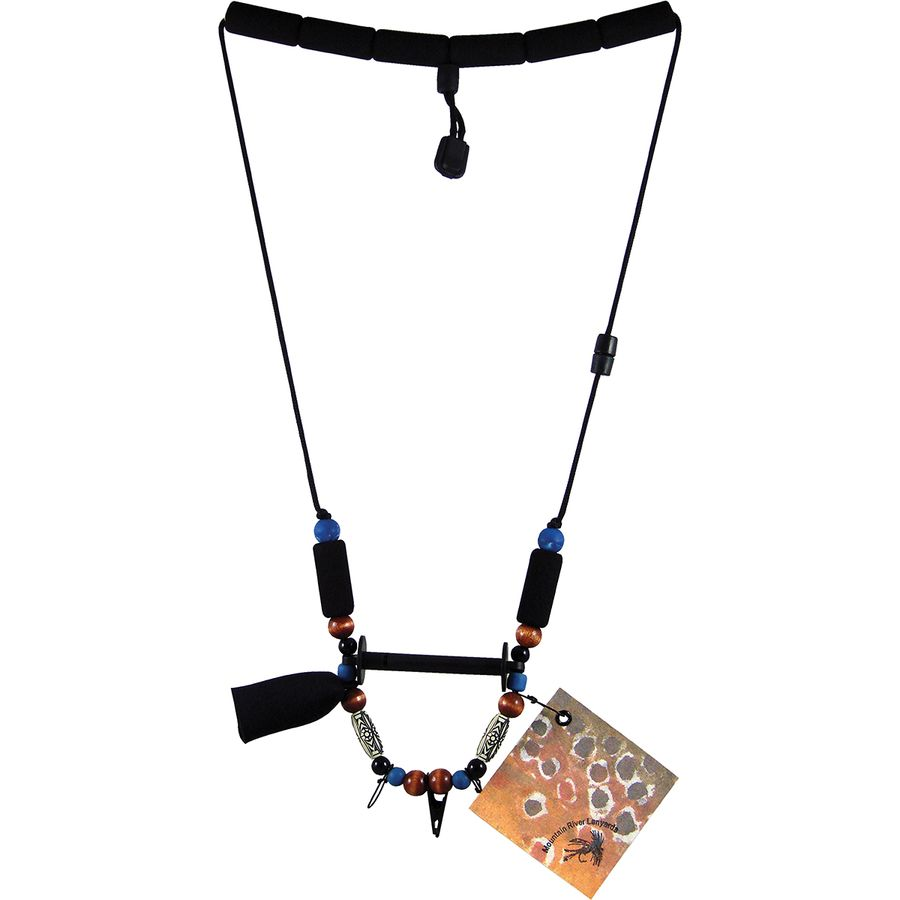 Angler 39 s accessories mountain river angler lanyard for Fly fishing accessories