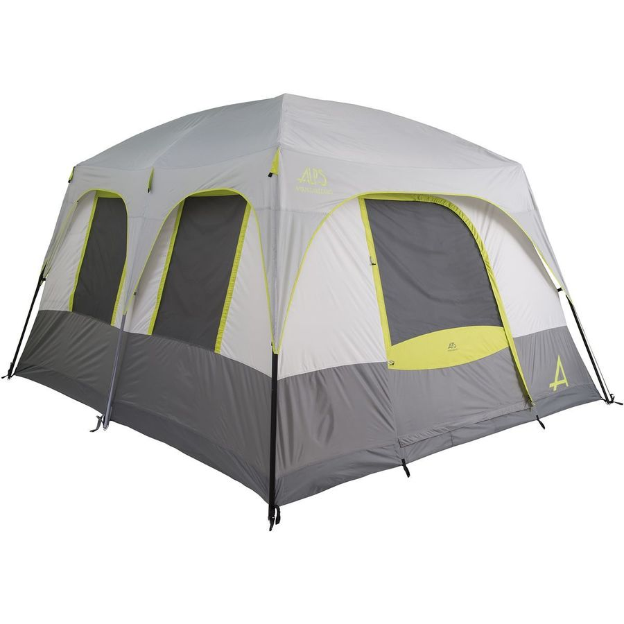 alps mountaineering somerset 6 two room tent 6 person 3