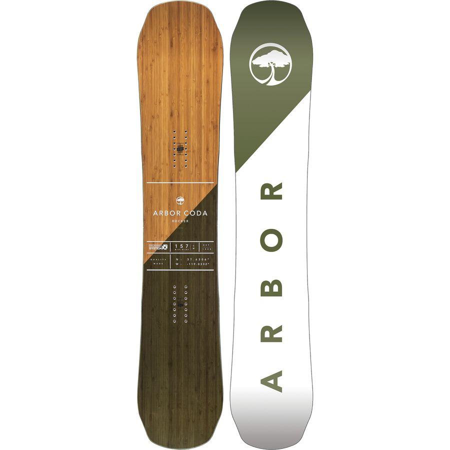 Arbor Coda Rocker Snowboard - Wide