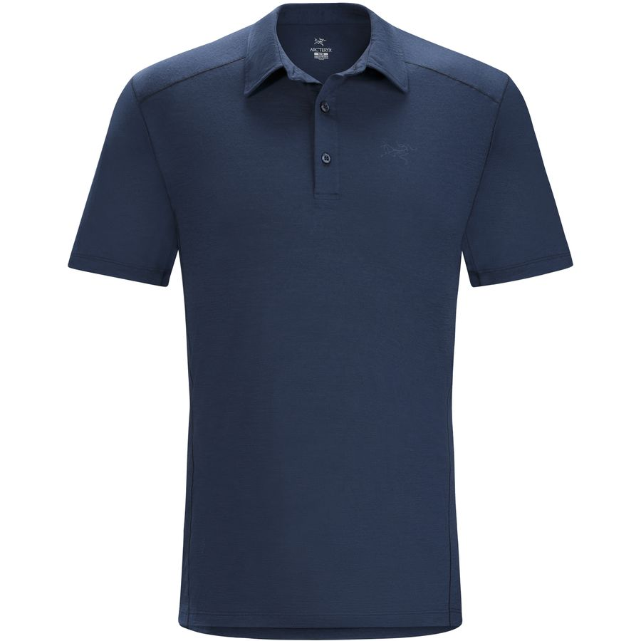 pelion men Classic style and advanced technical fabric combine in a highly versatile polo designed to manage the rigors of the trail, global travel and casual workdays the regular fit has an athletic profile, but allows airflow and easy comfort.
