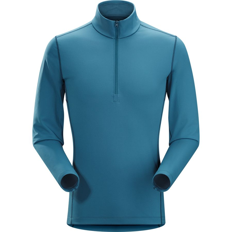 Arcteryx Phase AR Zip Neck Top - Mens