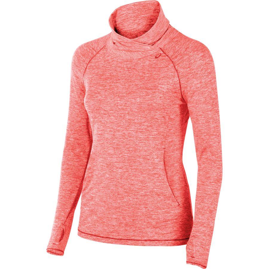 Asics Asx Lux Mock Neck Shirt Women 39 S