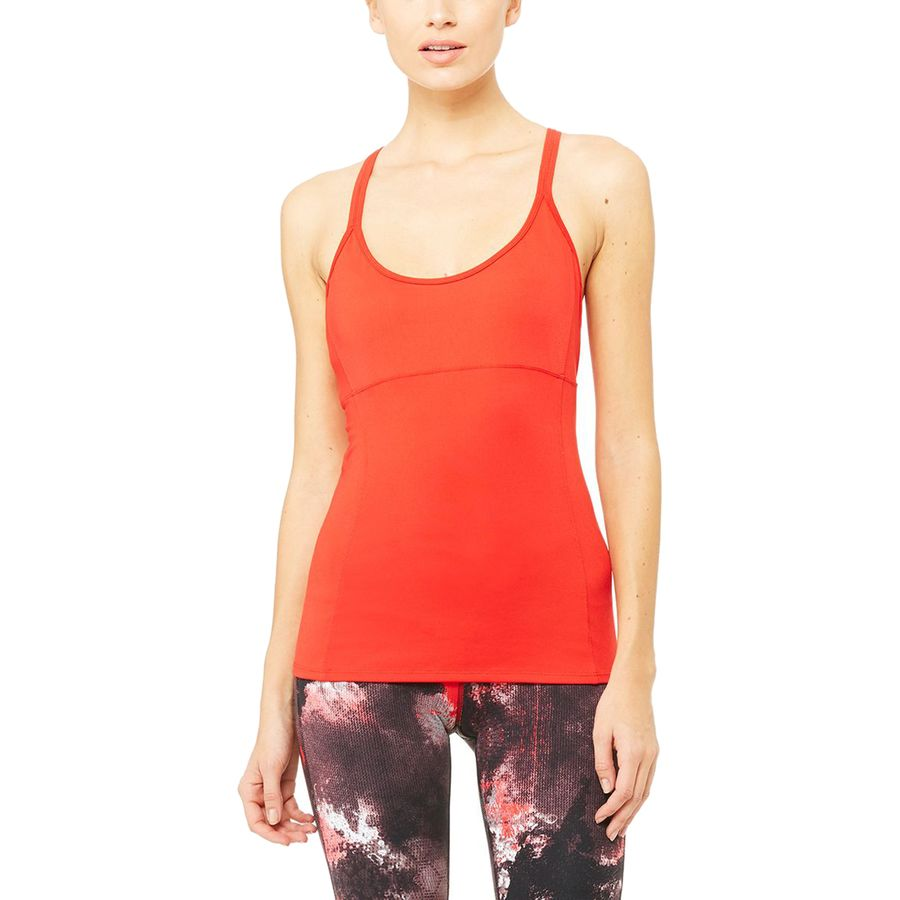 Alo Yoga Lotus Bra Tank Top - Womens