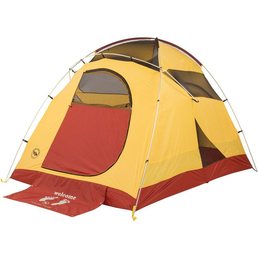 Big agnes big house 4 tent 4 person 3 season for Tent over house