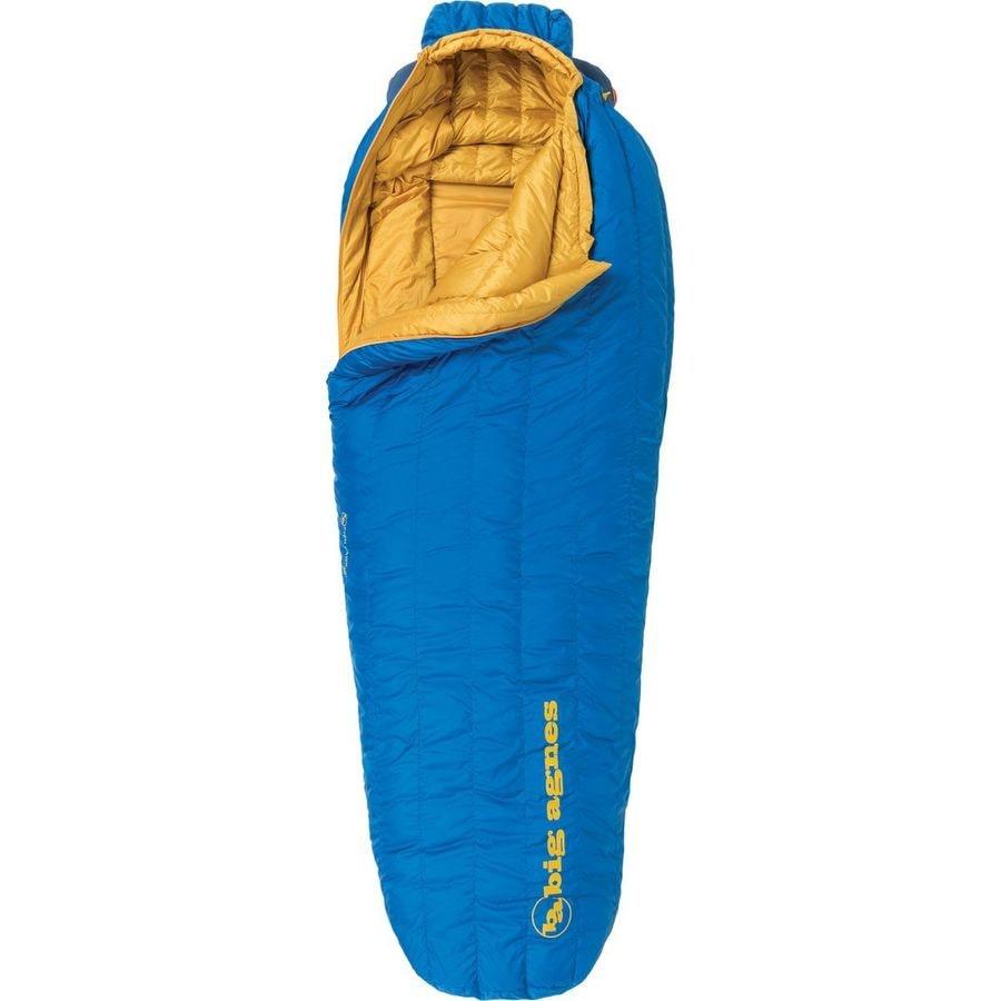 Big agnes fish hawk sleeping bag 30 degree down for Fish hawk x4
