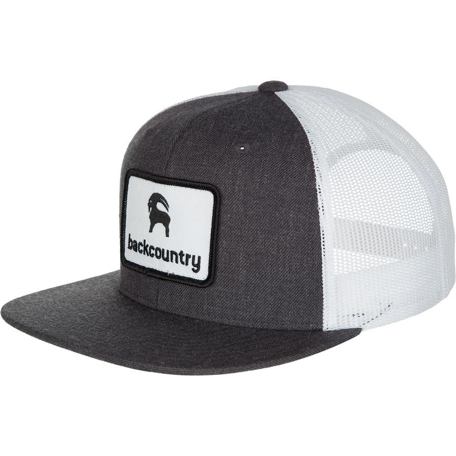 Backcountry Flat Brim Patch Trucker Hat Backcountry Com