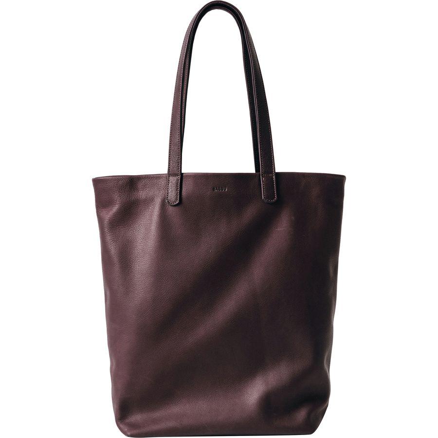 BAGGU Basic Leather Tote