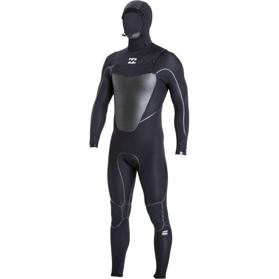 Billabong 504 Absolute X Chest Zip Hooded Wetsuit - Mens