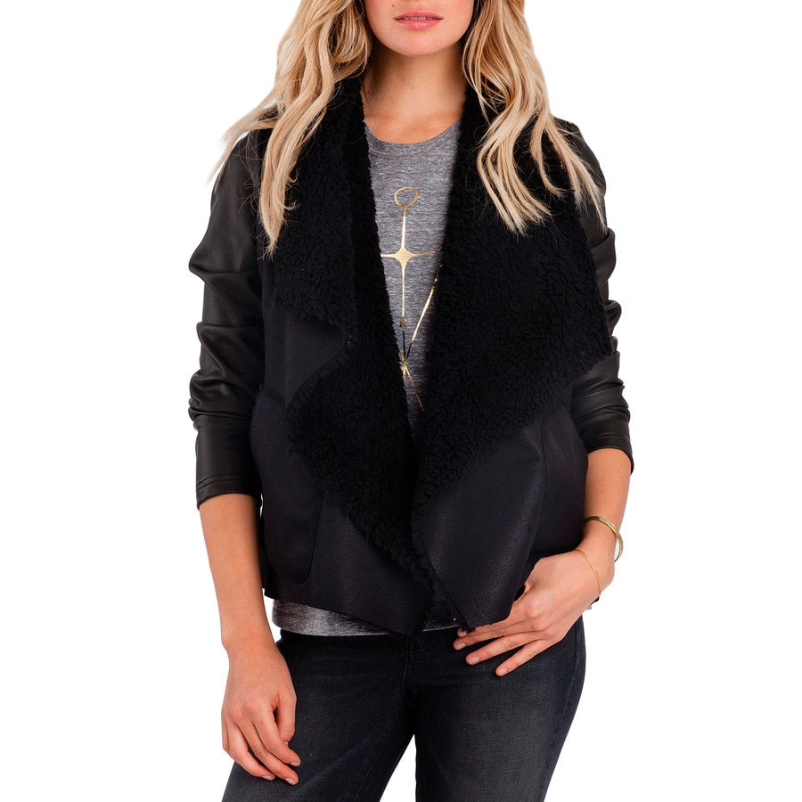 Billabong leather jacket