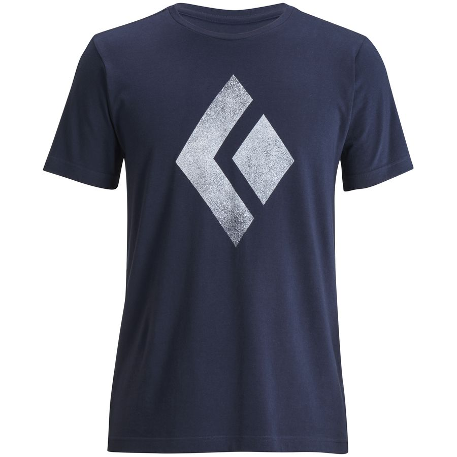 Black diamond chalked up t shirt men 39 s for Tahari t shirt mens