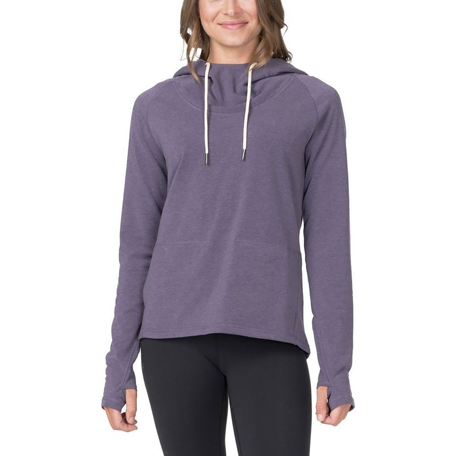 Basin and Range Cresent Cowl Drirelease Top - Womens