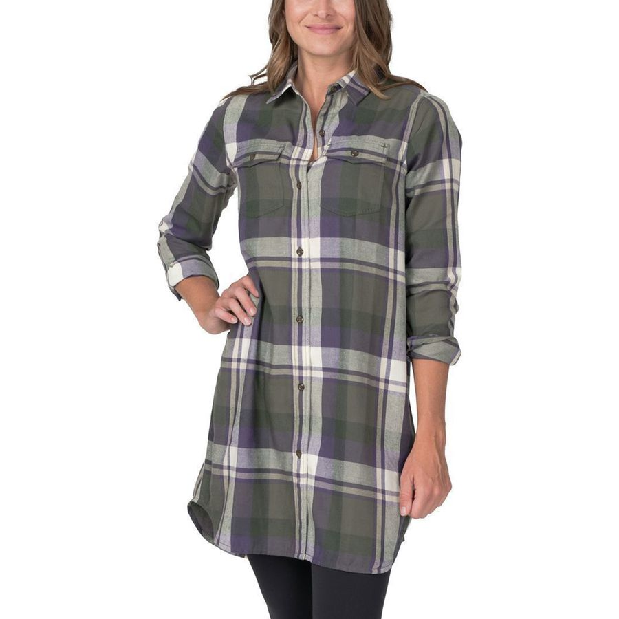 Basin and Range Snow Creek Flannel Dress - Women's