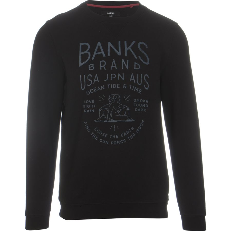 BANKS Fire & Wind Crew Sweatshirt - Mens