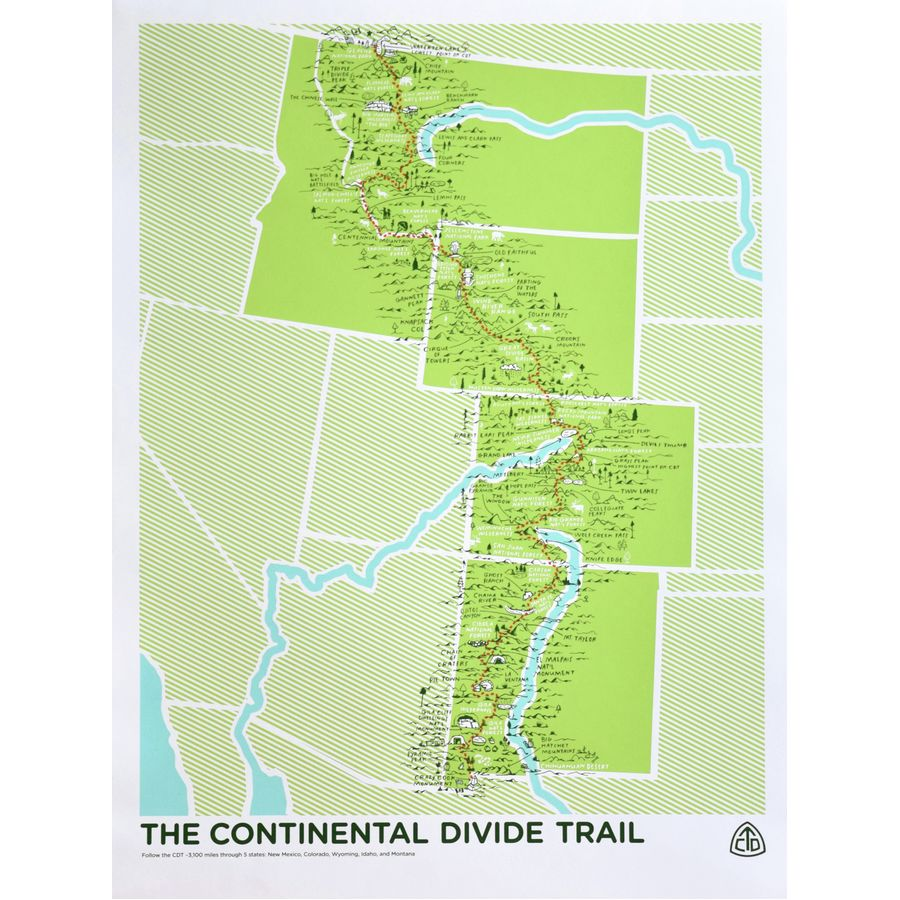 continental divide A continental divide is a drainage divide on a continent such that the drainage basin on one side of the divide feeds into one ocean or sea and the basin on the other side feeds into a different ocean or sea.