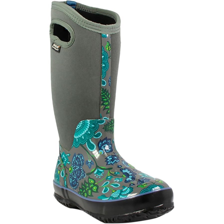 bogs classic winter blooms boot s