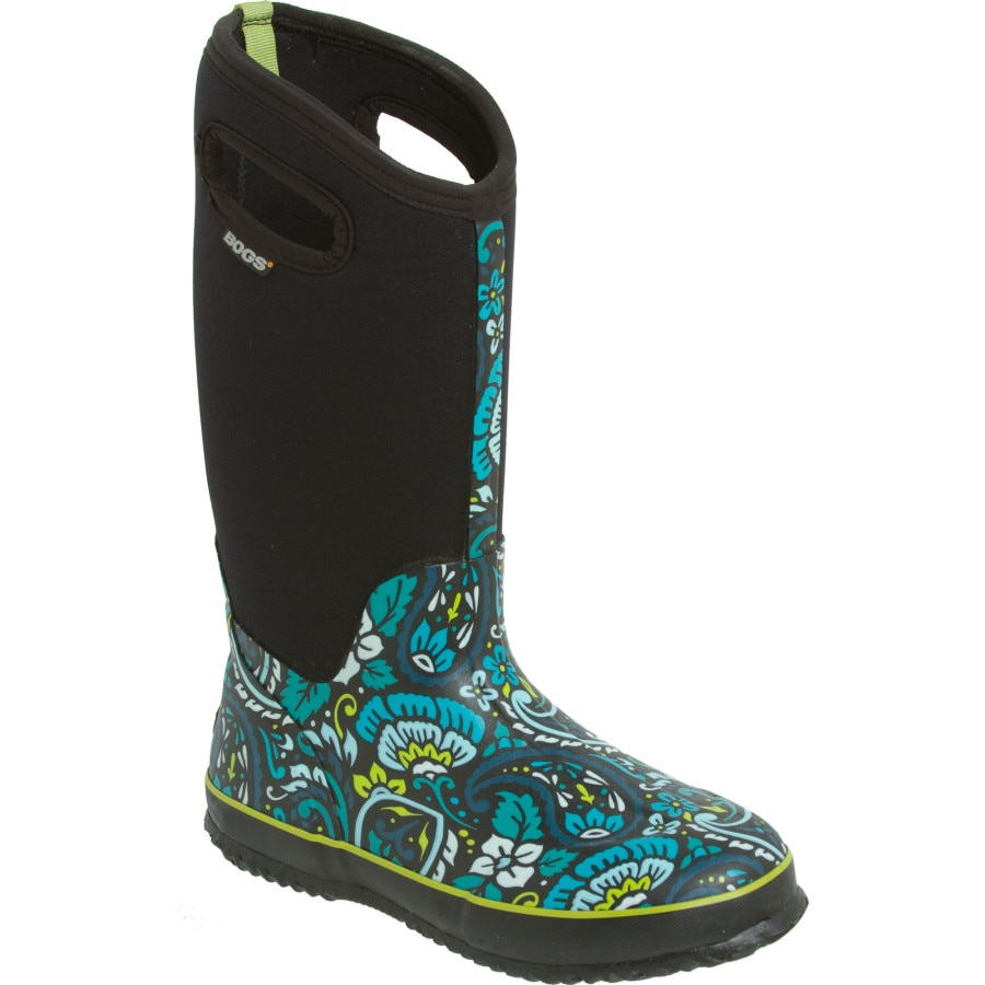 Excellent BOGS Classic Winter Blooms Tall Womenu0026#39;s Boot | EBay