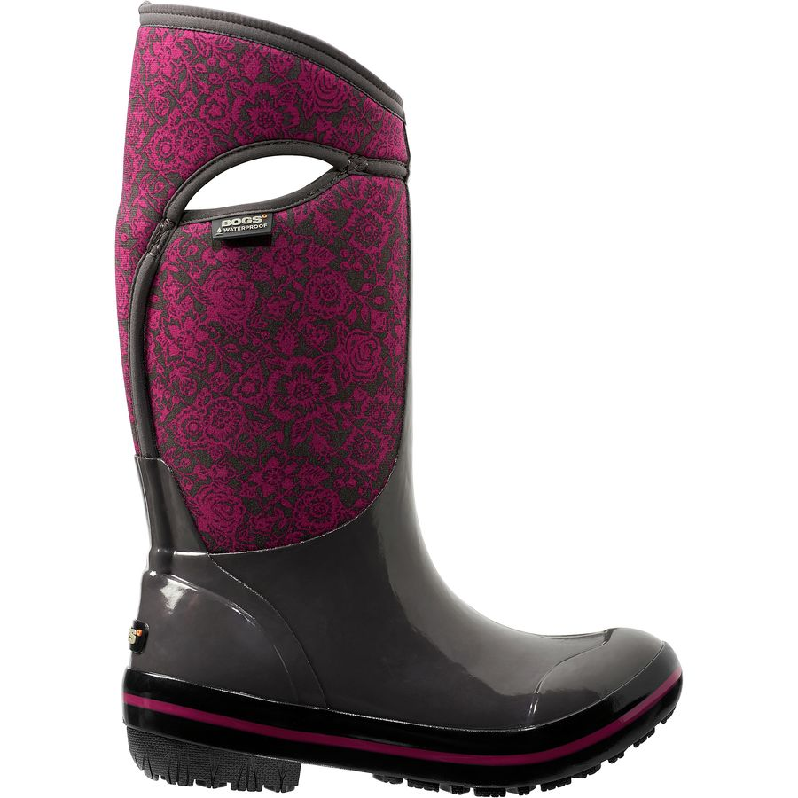 Bogs Plimsoll Quilted Floral Tall Boot - Womens