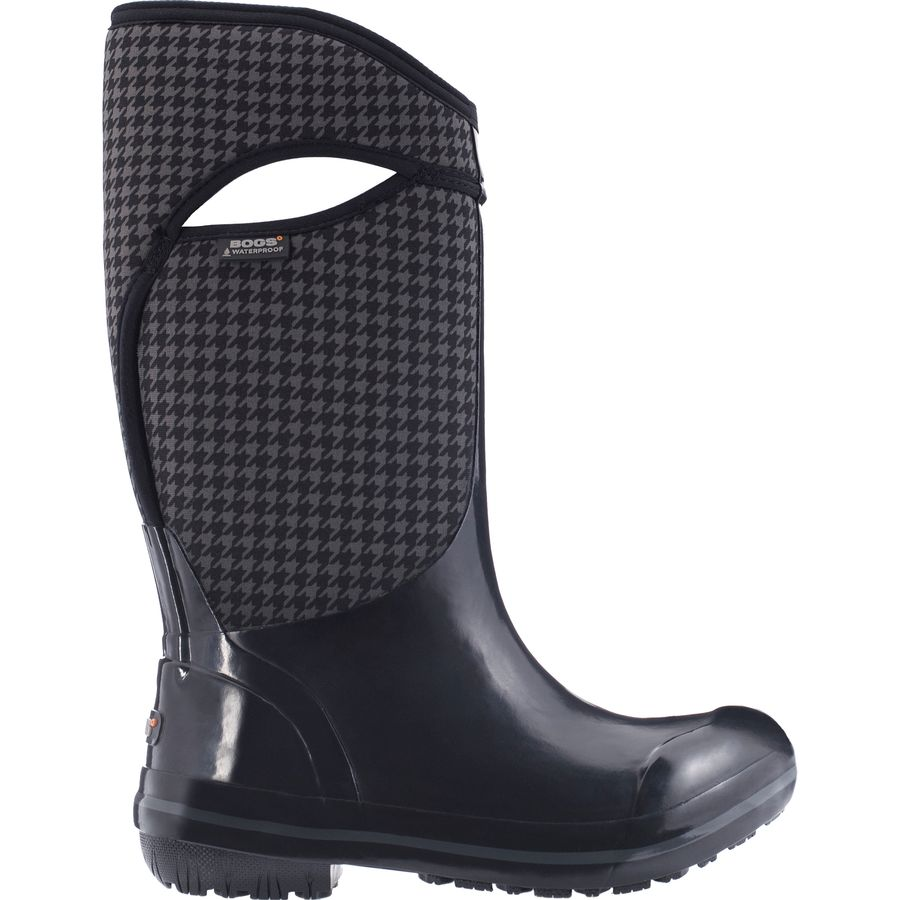 Bogs Plimsoll Houndstooth Tall Boot - Women's