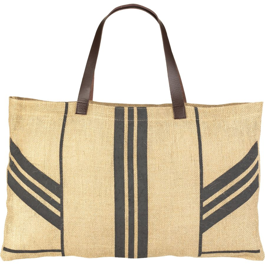 The Beach People Stripe Jute Bag