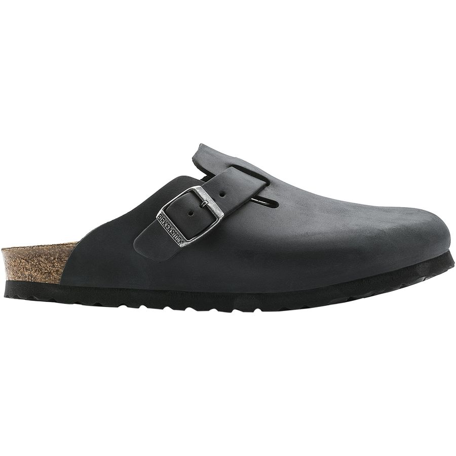 Birkenstock Boston Oiled Leather Shoe - Mens