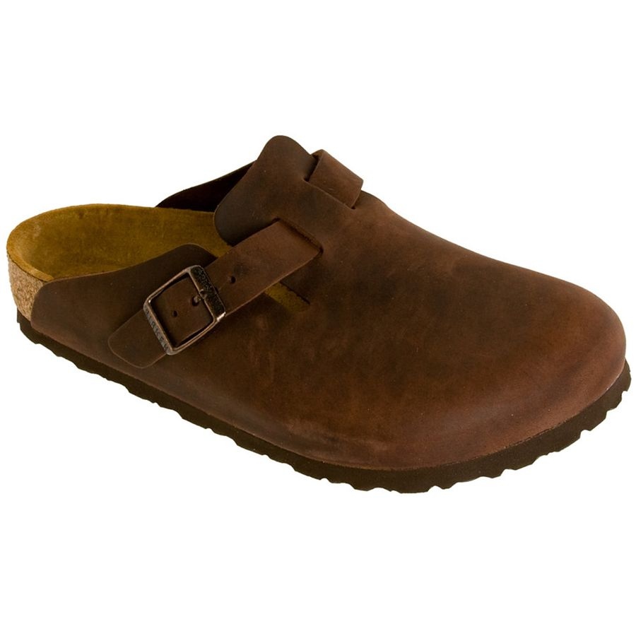 Birkenstock Boston Oiled Leather Clog - Womens
