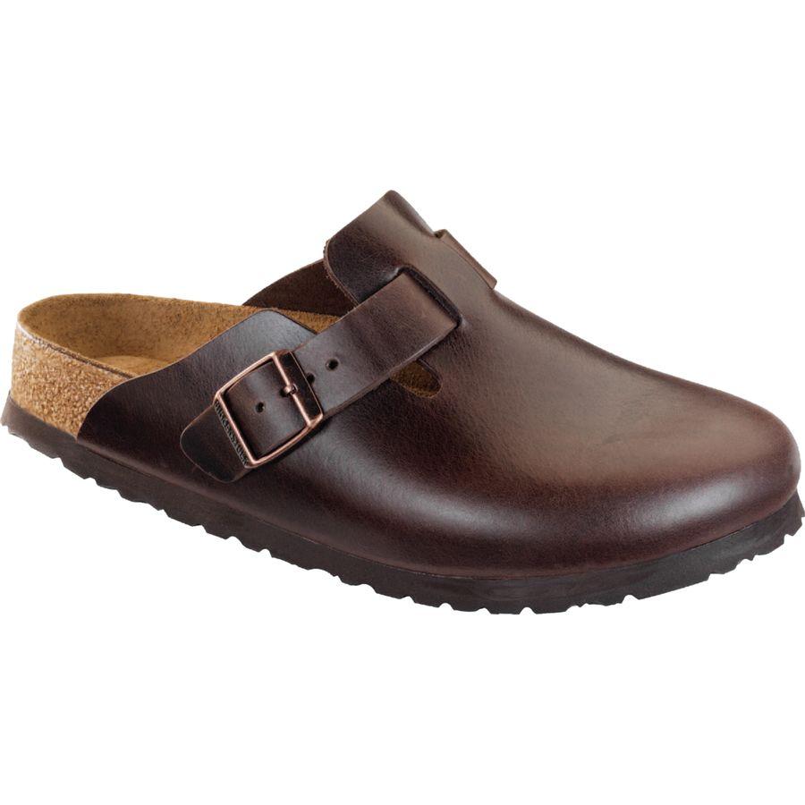 birkenstock boston soft footbed amalfi leather clog men. Black Bedroom Furniture Sets. Home Design Ideas