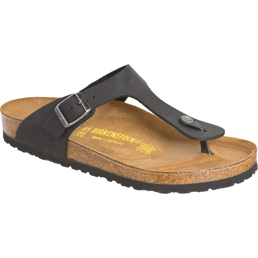 Model Birkenstock Gizeh Oiled Leather Sandal  Women39s  Evo