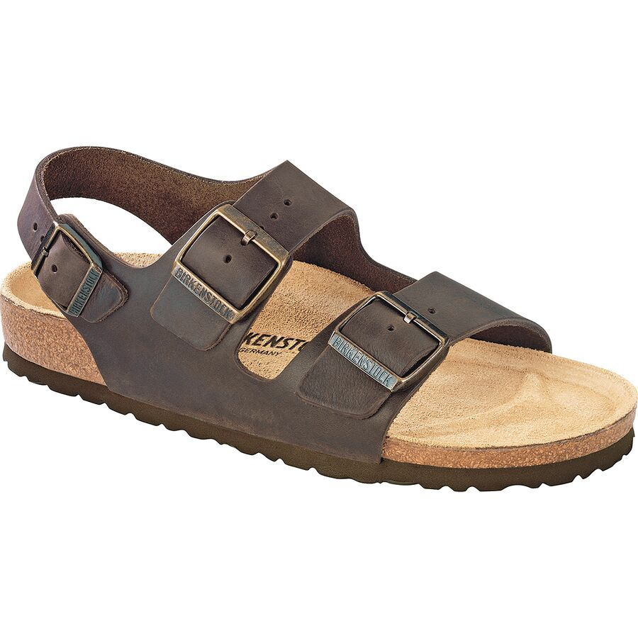 birkenstock milano leather sandal