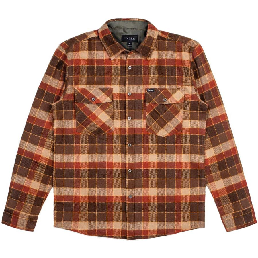 Brixton Weldon Flannel Shirt Men 39 S