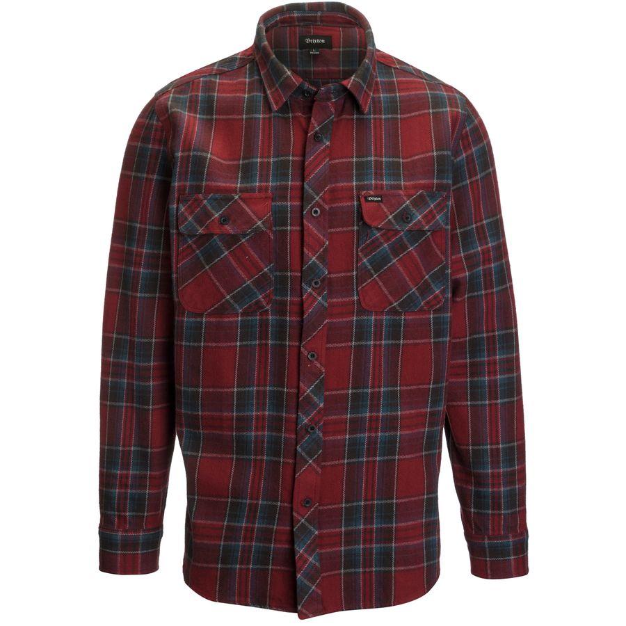 Brixton Bowery Flannel Shirt - Long-Sleeve - Mens
