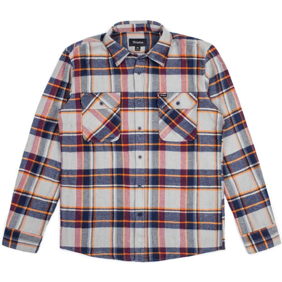 Brixton Bowery Flannel Shirt Long Sleeve Men 39 S