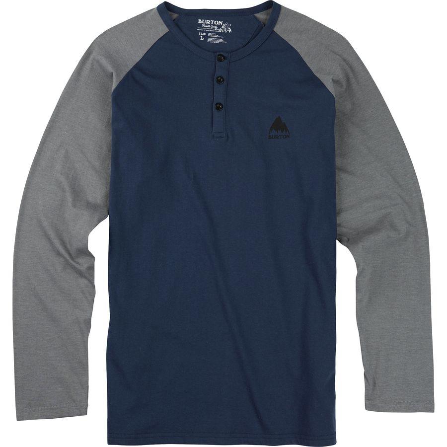 Burton Lifty Henley Slim Fit T Shirt Long Sleeve Men 39 S