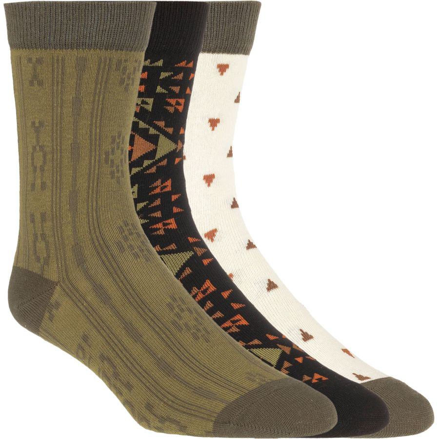Burton Earthy Apres 3 Pack Socks - Women's