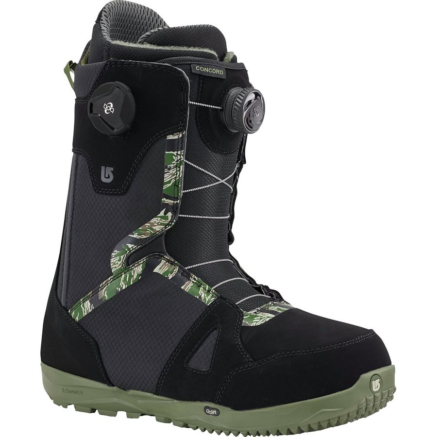 burton concord boa snowboard boot men 39 s. Black Bedroom Furniture Sets. Home Design Ideas