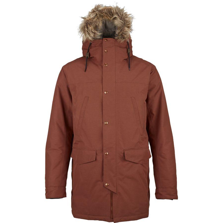 burton garrison gore tex down jacket men 39 s. Black Bedroom Furniture Sets. Home Design Ideas