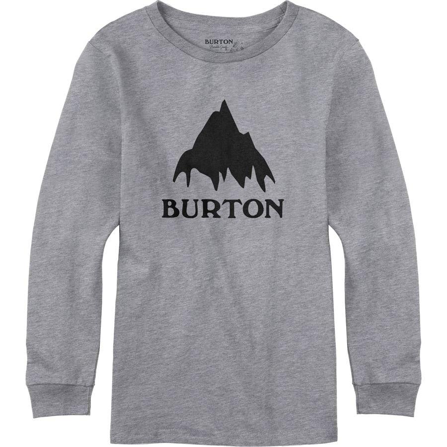 Burton classic mountain t shirt long sleeve boys for Mountain long sleeve t shirts
