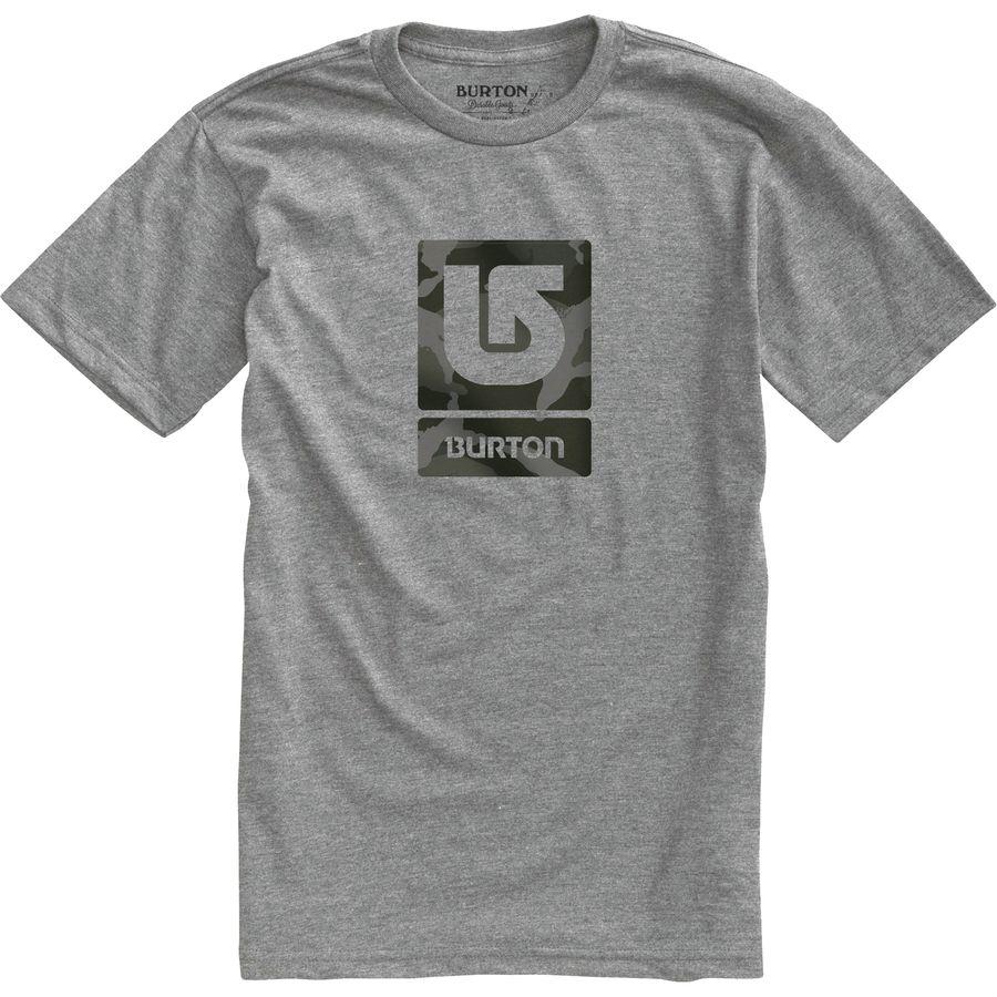 Burton Logo Vertical T-Shirt - Mens