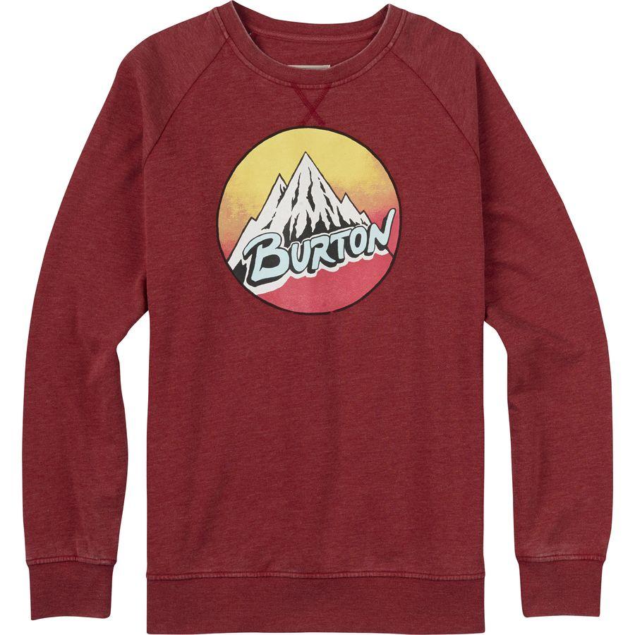 Burton Retro Mountain Crew Sweatshirt - Men's