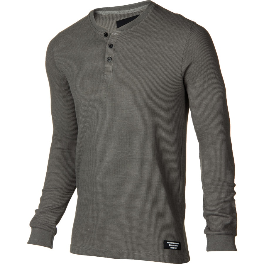 Burton don thermal henley shirt long sleeve men 39 s for Men s thermal henley long sleeve shirts