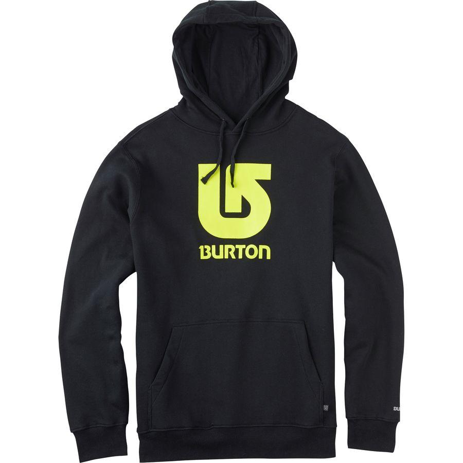 Burton Logo Vertical Pullover Hoodie - Men's