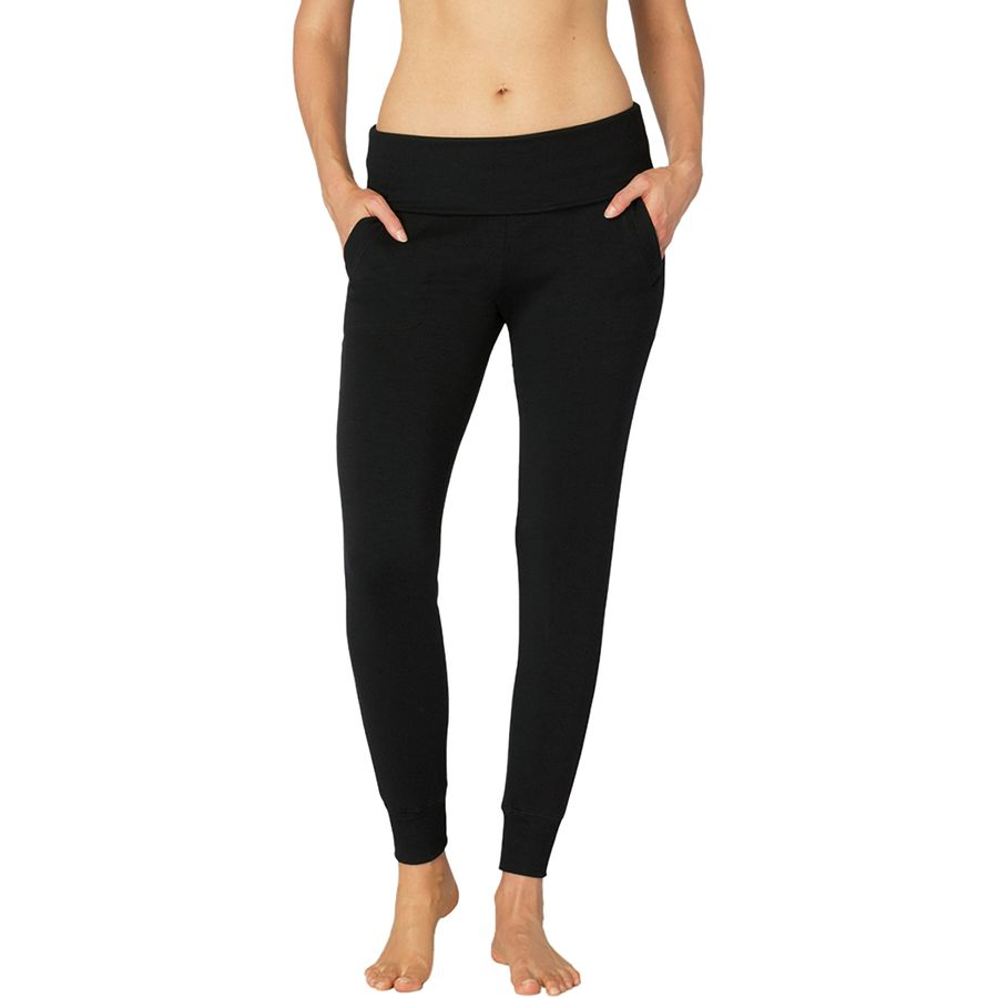 Beyond Yoga Cozy Fleece Foldover Long Sweatpant - Womens