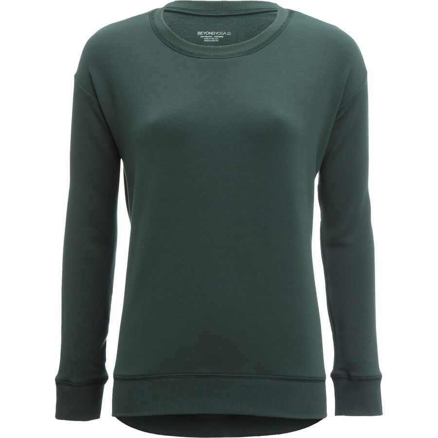 Beyond Yoga Cozy Fleece Breeze Pullover Sweatshirt - Womens