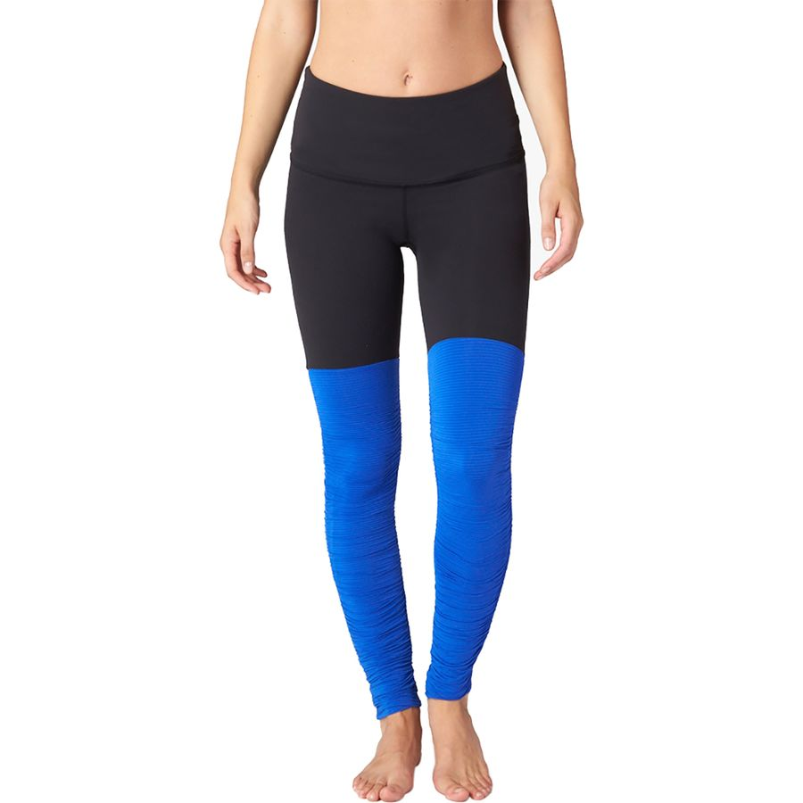 Beyond Yoga Sleek Stripe High Waist Legwarmer Leggings - Womens