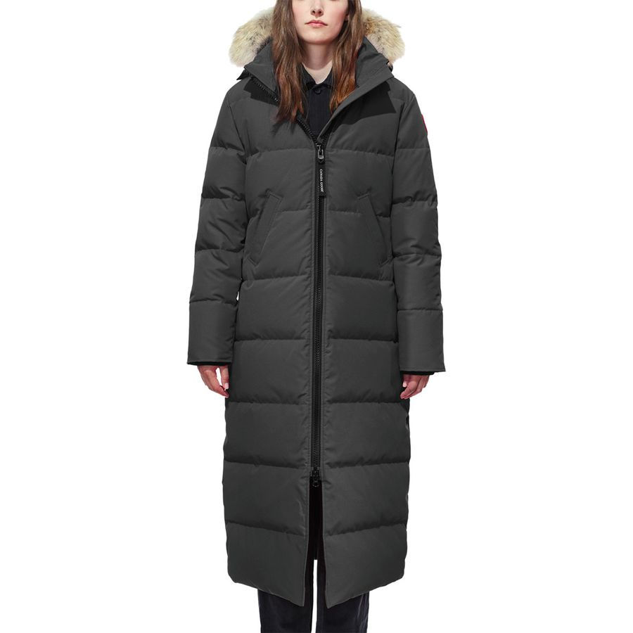 WOMEN'S DOWN COATS. Women's down coats are a staple for winter wear thanks to their light weight, fashionable cuts and excellent insulation. While there are plenty of brightly colored hiking-style down jackets available, designers such as Moncler and Via .