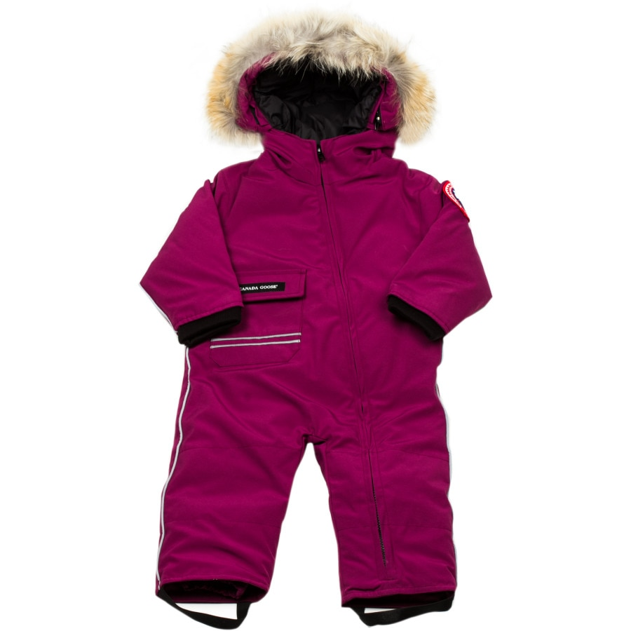 Shop for and buy baby snowsuit online at Macy's. Find baby snowsuit at Macy's. Macy's Presents: The Edit- A curated mix of fashion and inspiration Check It Out. Free Shipping with $75 purchase + Free Store Pickup. Contiguous US. First Impressions Baby Girls Hooded Snowsuit, Created for Macy's.